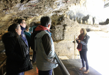 Sclayn visite des fouilles