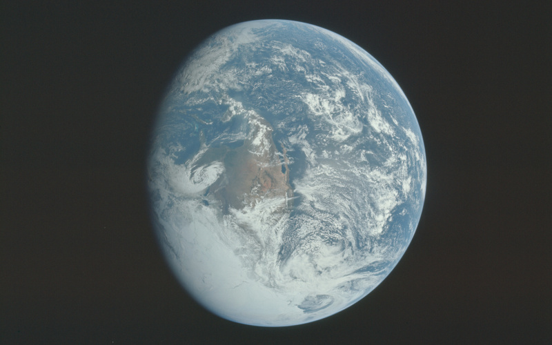Terre (photo Mission Apollo 16 NASA)
