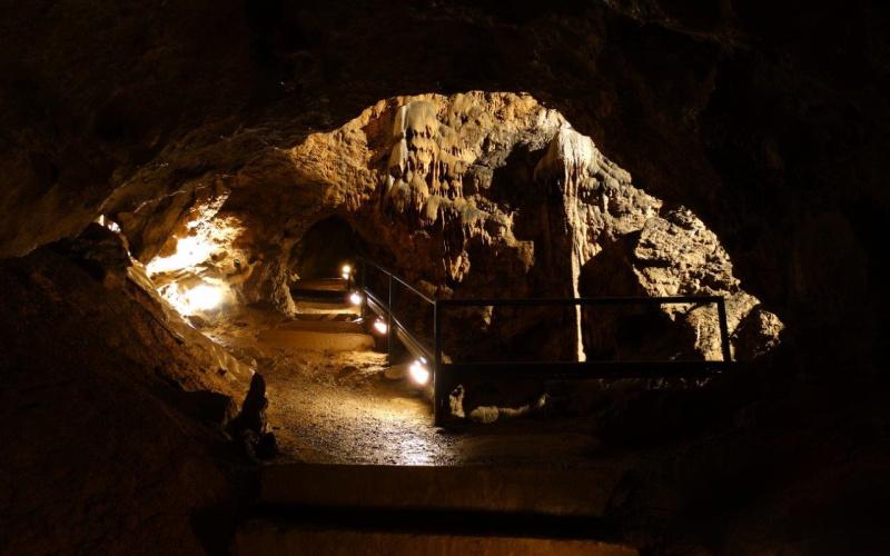 La salle des mammouths de la Grotte de Comblain (photo: Michaël Deplancke - Les découvertes de Comblain)