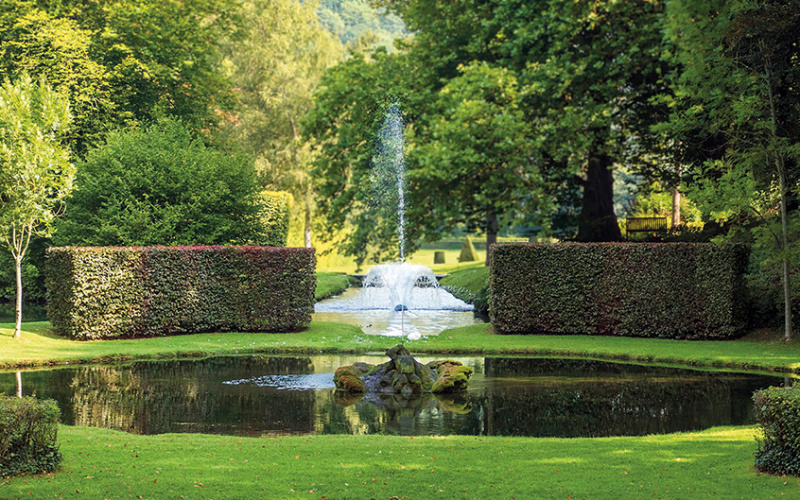 Jardins d'Annevoie - Photo Daniel Fouss