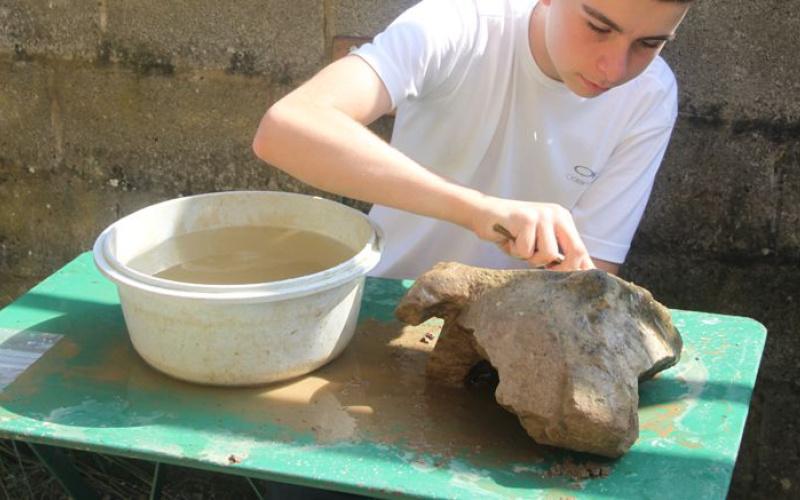 Atelier matériel archéologique