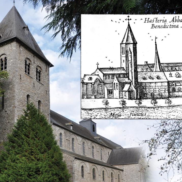 Église abbatiale Saint-Pierre d'Hastière